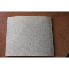 Eponge abrasive 1 face grain 120 D115x140x5mm Klingspor P10