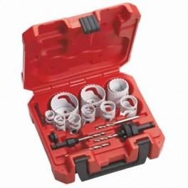 Set scies cloche 14 pièces bi-métal Milwaukee 49224152