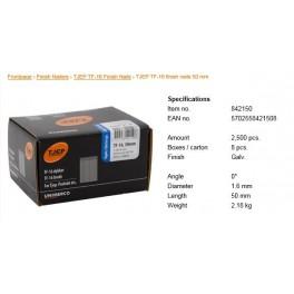 Pointes pour cloueurs escalier galvaTF16-50mm B2500 842150