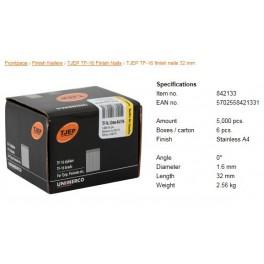 Pointes pour cloueurs escalier Inox A4 TF16-32mm B5000  842133