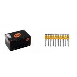 Pointes bandes galva striées pour bétons CPX30/35 C500 TJEP 839235