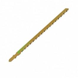 Lames de scie sauteuses, bois tendre long/utile 155mm Carte de 5 Léman 7023.05