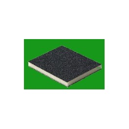Eponge abrasive 2 faces 120X98X13mm Soft Pad G220 Flexifoam Paquet de 5