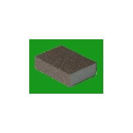 Eponge abrasive 2 faces 98x69x26mm Block G120 Flexifoam P10