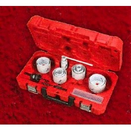 Set scies cloche 17 pièces bi-métal Milwaukee 49224102