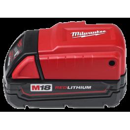 Adaptateur pour batterie M18 Milwaukee 4932430084