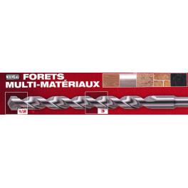 Coffret 7 forêts multi-matériaux D3/4/5/6/7/8/10mm Milwaukee 4932352335*