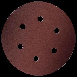 Disque abrasif 6 trous intérieurs D150 G120 A/A A/E VSM (P10)
