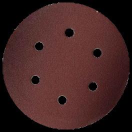 Disque abrasif 6 trous intérieurs D150 G080 A/A VSM (P10)