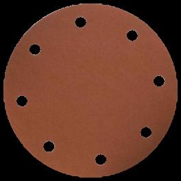 Disque abrasif 8 trous D150 G120 A/A A/E VSM (boite de 100)