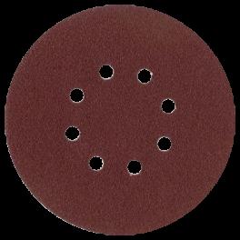 Disque abrasif 8 trous intérieurs D150 G060 A/A VSM (P10)