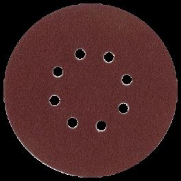 Disque abrasif 8 trous intérieurs D150 G080 A/A VSM (boîte de 50)