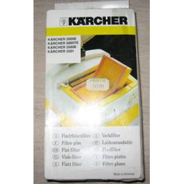 Filtre plat Karcher 2000E/2000TE/3500E/3501