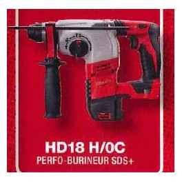 Perforateur burineur SDS+ HD18 H/0 Milwaukee 4933431578*
