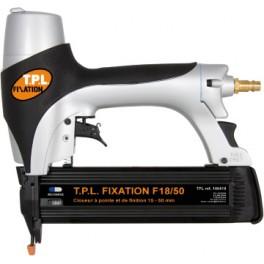 Cloueur à pointe et de finition  F18/50 0 degré  (coffret plastique)100419