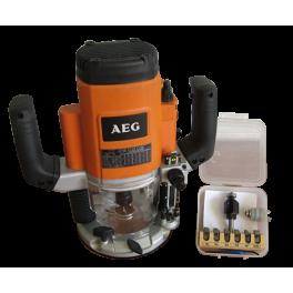 Défonceuse AEG + Coffret multi pro AKE