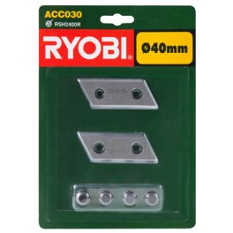 Couteaux (2) réversibles ACC030-RSH2400R-RSH2545B  Ryobi 5132002646