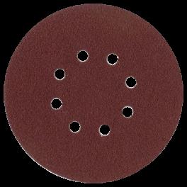 Disque abrasif 8 trous intérieurs D150 G180 A/A VSM P20