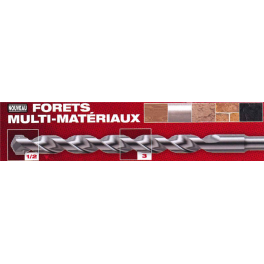 Forêt multi matériaux D10 A120 B80 Milwaukee