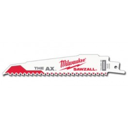 Lame scie sabre pour démolition Sawzall Long 150 Milwaukee Paquet de 5 REF48005021