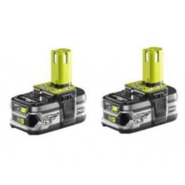 Batterie (2) Lithium+ 18V 1.5 Ah + Chargeur rapide RBC18LL15 Ryobi 5133001914